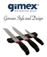 Gimex Camping Geschirr 3-tlg. Messer Set aus Edelstahl auf Magnetblock