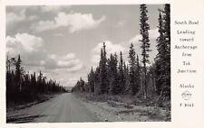 Frashers RPPC South Road Leading Toward Anchorage Tok Junction Alaska~127763