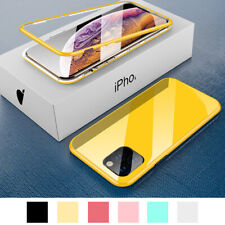 Magnetic Case with Screen Protector For iPhone SE 2 11 Pro XS Max XR 8 7 6 Plus