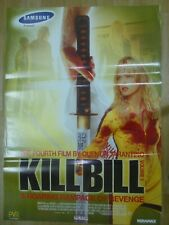 Kill Bill Vol 1 2003 Rare Movie Poster India Promo Orig Ltd Stock Eng