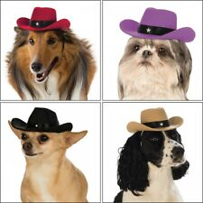 Dog Cowboy Hat Costume Accessory Pet Halloween