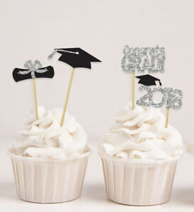 Darling Souvenir| Graduation Theme Party Cupcake Toppers | Dessert-atj