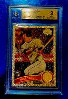 2011 Topps Update Mike Trout Diamond Anniversary Rookie RC Beckett Graded 9 Mint