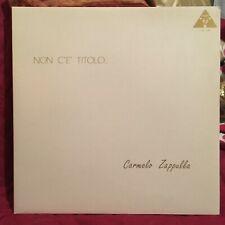 Vinyl, LP, album: Carmelo Zappulla - Non c'è Titolo (nuovo da negozio)