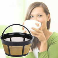 Reusable Basket-Style Gold Tone Permanent Coffee Filter for 8-12 Cup Mr. Coffee