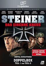 Steiner - Das eiserne Kreuz - Teil I + II - Doppelbox + Extras - Filmjuwelen DVD
