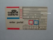 COMMODORES 1978 Concert Ticket Stub CAPITAL CENTRE D.C. Very Rare LIONEL RICHIE