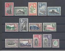 More details for ceylon 1938-49 sg 386/97a mint cat £100