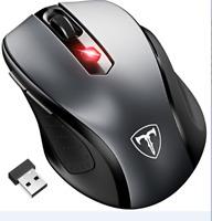 USB 2.4GHz Wireless Mouse Mini Cordless Optical Mice 2400 DPI Computer Laptop US
