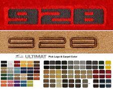 Lloyd Mats Porsche 928 Custom Embroidered 928 Front Floor Mats (1978-1995)
