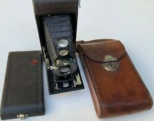 Goerz Tenax Vintage Folding Camera Leather bag fair condition