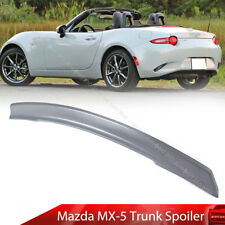 Paint Fit For Mazda MX-5 Miata 4th 2D Convertible L Rear Trunk Spoiler Wing 2020