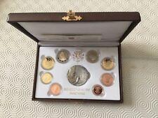 Vatican Coffret de 8 pièces + médaille en argent 2011 PROOF