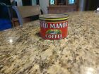 Vintage Old Manor Coffee Tin (Back in the Day)
