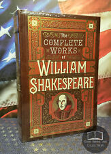 NEW The Complete Works of William Shakespeare Bonded Leather Collectible Edition
