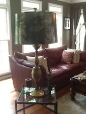 REMBRANDT TALL MONUMENTAL BRASS TABLE LAMP!!!!!