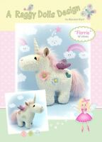 FLORRIE UNICORN - Sewing Craft PATTERN - Cloth Doll Bear Horse Pony Magical