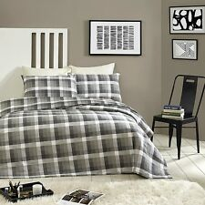 P/A 175GSM Egyptian Cotton Flannelette 3Piece Printed QuiltCover SuperKing Oxfor