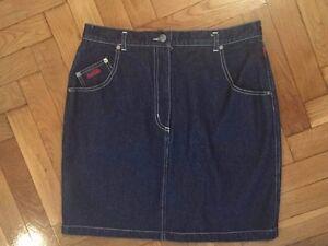 Coca Cola Women Jeans Skirt 100% Cotton Size EU44
