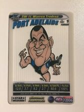 2006 AFL Teamcoach Card Star Wild Card SW-11 Warren Tredrea Port Adelaide