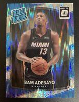 BAM ADEBAYO Optic SHOCK Holo Foil Prizm SP ROOKIE Card #187 PSA 9/10?