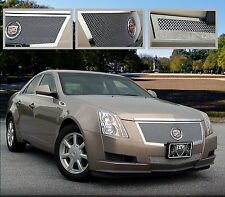 2PC FINE MESH GRILLE GRILL E&G FITS 2008 2009 2010 2011 CADILLAC CADY CTS