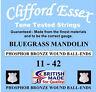 Clifford Essex Mandolino Corde Alta Qualità Cordoncini Made in Britain
