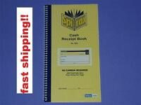 Spirax Cash Receipt Book No.553 no carbon required 160 duplicate sets 4 per page