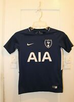 NIKE Tottenham Hotspur F.C. Football Soccer Kids BOYS Small Away Shirt 2017/18