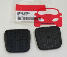 2X Brake&Clutch Pedal Pad Rubber For Mazda RX-7 323 626 929 B-Series MPV MX-3 6