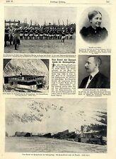 Vom Brand der Hampelbaude im Riesengebirge Historische Aufnahmen von 1906