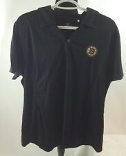 New NHL Boston Bruins Polo/Golf Shirt, Womens XXL 2XL, Cutter & Buck