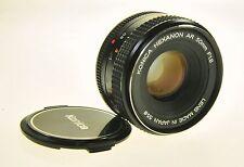 Konica Hexanon AR 50mm F1.8 Camera Lens