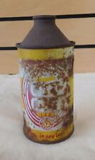 Vintage Old City Beer Cone Top 12 oz. Beer Can St. Paul, Mn (Th156)