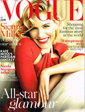 October Vogue Monthly Magazines in English