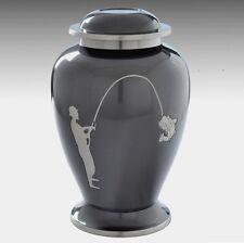 Fishing Cremation Urn, Adult Urn, Funeral Urn