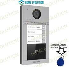 Hikvision Videocitofono 2mpx Wifi DS-KV8413-WME1 Pulsantiera 4 chiamate