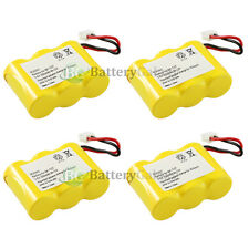 4 New Cordless Home Phone Rechargeable Battery for Vtech 80-5074-0000 8050740000