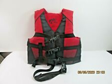 New listing Bass Pro Shops Red Child's Life Jacket 30-50 lbs Used Good Condition