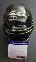 Dan Mullen Signed Auto Florida Gators Mini Helmet Autographed PSA/DNA COA