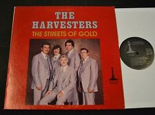 SOUTHERN GOSPEL LP The Harvesters Minute Man 1978 The Streets Of Gold