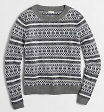 Wool Blend Fair Isle, Nordic Sweaters for Women