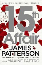 James Patterson Crime & Thriller Fiction Books in English