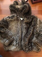 Restoration Hardware Baby And Child Faux Fur Coat 4-6 Years