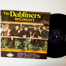 The Dubliners ‎– In Concert  UK`65  LP   Vinyl   vg+