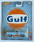 Hot Wheels '83 Chevy Silverado Blue #2 2020 Pop Culture Vintage Oil 2/5 - Gulf