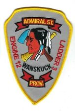 Providence RI Rhode Island Fire Dept. Engine 12 Ladder 3 Admiral St patch - NEW!