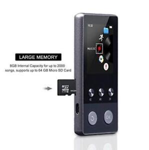 Reproductor MP3 MP4 Bluetooth 4.2  Sonido de Gama Alta Radio HIFI 8GB Micro SD