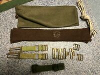 WW2 Australian Army - Personal equipment group Set - 14 Items
