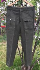 Vintage C.C. FILSON CO., Genuine 100% Virgin Wool Talon Zipper Pants. Size 34x29